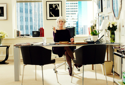 And then of course there is Miranda Priestly's office...insane