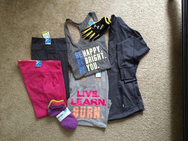 Workout Haul